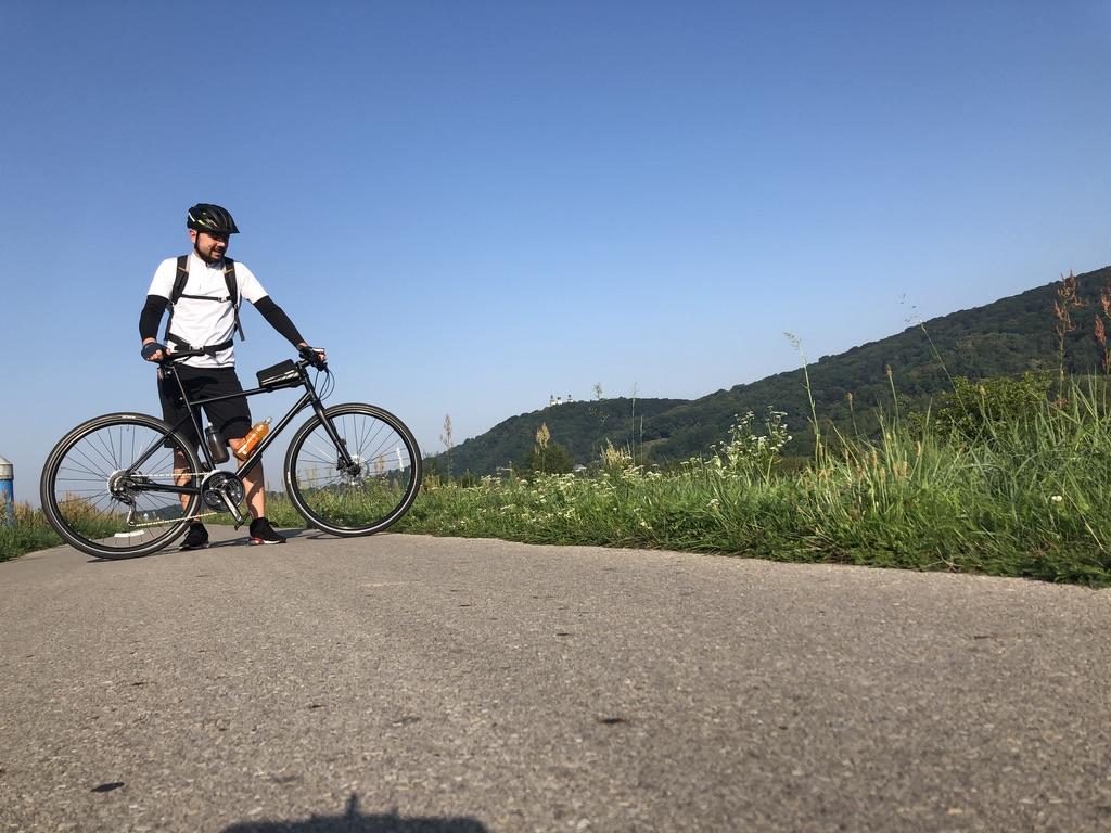 Rower, Wiślana trasa rowerowa, Tyniec