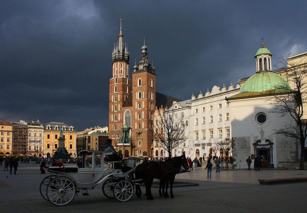Stare Miasto, Kraków, dorożka